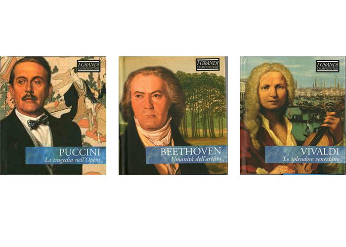 i grandi compositori