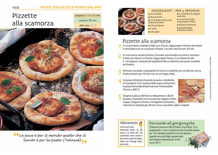 pizzette scamorza